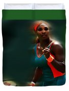 Serena Getting It Done Duvet Cover