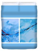 Entangled No.7 - Abstract Painting Duvet Cover