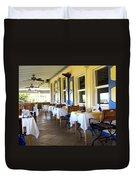 Serendipity Restaurant St Kitts Duvet Cover