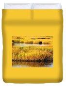 Serene Grasses Duvet Cover