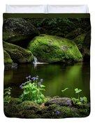 Serene Green Duvet Cover