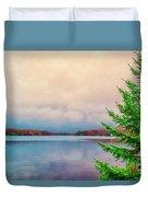 Serene Lake Harmony Duvet Cover