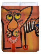 Serengeti Cat Duvet Cover
