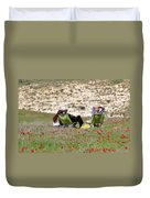 Serenity At Lachish Duvet Cover