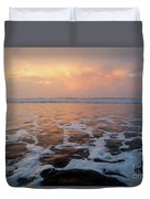 Serenity At The Sea Duvet Cover