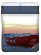 Serenity In Cape May Duvet Cover
