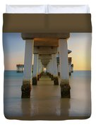 Serenity Under The Pier Duvet Cover