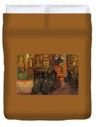 Sergey Dmitrievich Miloradovich Russian 1851-1943 Uspenskiy Cathedral, 1917 Duvet Cover