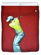 Sergio Garcia By Mark Robinson Duvet Cover
