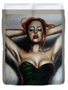 Series Dasha. Little Black Dress. 2.  Duvet Cover