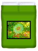 Series Of Spring Time Paintings Duvet Cover