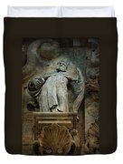 Sermon In Stone Duvet Cover