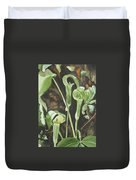 Sermon In The Woods Duvet Cover