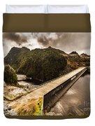 Serpentine River Crossing Duvet Cover