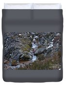 Serra Da Estrela Mountains And Waterfall Duvet Cover