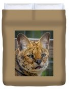 Serval Cat Duvet Cover