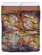 Set In Stone Duvet Cover