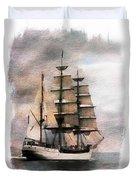 Set Sail Duvet Cover by Aaron Berg