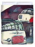Setra Bus Kassbohrer S11 Duvet Cover