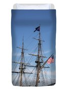 Setting Out To Sail Duvet Cover