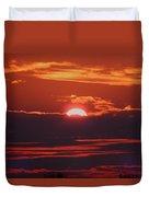 Setting Sun Duvet Cover