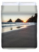 Setting Sun, No. 2 Duvet Cover