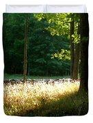 Setting Sunlight Duvet Cover