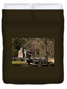Settlers Cabin Duvet Cover