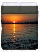 Settling Sun Duvet Cover