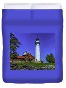 Seul Choix Point Lighthouse Duvet Cover