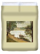 Seurat: Gray Weather Duvet Cover