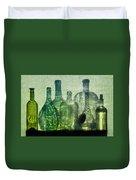 Seven Bottles Duvet Cover