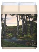 Seven Sisters Secret Retreat Duvet Cover