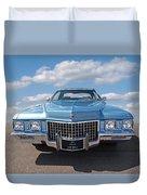 Seventies Superstar - '71 Cadillac Duvet Cover
