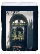 Seville City Courtyard Duvet Cover