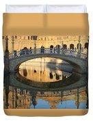 Seville, Spain Tile Bridge Duvet Cover