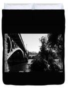 Seville - Triana Bridge Duvet Cover