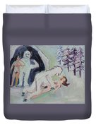 Sex With A Yeti Duvet Cover