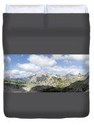 Sextener Dolomites Duvet Cover