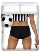 Sexy Referee Duvet Cover