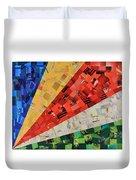 Seychelles Flag Duvet Cover