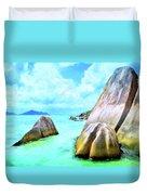 Seychelles Shallows Duvet Cover