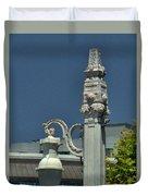 Sf Lamp Post Duvet Cover