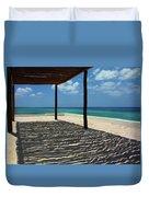 Shade By The Beach Duvet Cover
