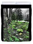 Shade Garden Duvet Cover