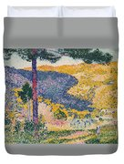Shade On The Mountain Duvet Cover