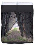 Shaded Walk Duvet Cover