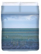Shades Of Blue On The Horizon Duvet Cover