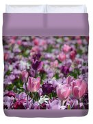 Days Of Wine And Tulips Duvet Cover