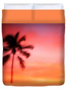 Shades Of Red Duvet Cover